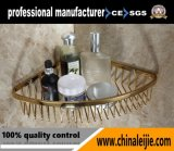 Bathroom Accessories Gold Finish Soap Basket of Stainless Steel