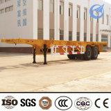 2015 Factory Price Tri-Axle 60 Ton 40ft Container Semi-Trailer
