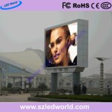 P8 / P10 Outdoor Fixed LED Display Panel for Advertising with 960X960mm Iron Cabinets