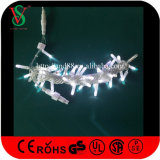Waterproof White Color LED Flash Christmas String Lights