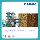 CE Approved Skjz5800 (4-5t/h) Small Animal Feed Pellet Plant