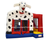 Hot Sale Inflatable Bouncer Combo with Slide Dog Theme