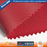 Polyester Lattice Oxford PVC Fabric for Bag