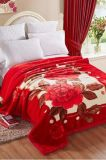 Double Ply High Quality 5 Kgs Printed Mink Blanket (SR-B170729-5)