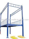 Hydraulic car parking lift large loading four column car lift