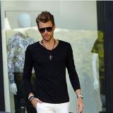 Black Blank Long Sleeve T-Shirt / Plain Long Sleeve T-Shirt