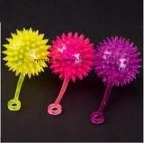 Plastic Toy with Flash Rainbow Ball
