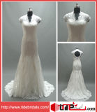 2014 Strapless Evening Gown Prom Dress, Bridal Gown Lace Wedding Dress (AS7129)