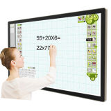 43inch Core I3, I5, I7 CPU, Infrared Multi-Point Touch All-in-One PC, Ad Player, Teaching Computer