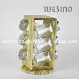 Revolving Bamboo Spice Rack (WKB0314A)
