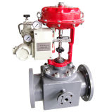 Insulation Control Valve Pneumatic Diaphragm Jacketed Control Valve