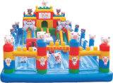 Best-Selling Inflatable Bouncer Funny Park Abroad
