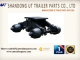Heavy Duty Truck Trailer 28t Bogie Suspension