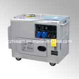 5500W Silver Color Silent Diesel Generator Set (DG7500SE)
