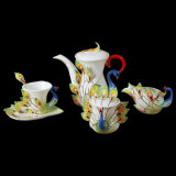 Franz Coffee Set with Exqusite Workmanship (2002-1A)