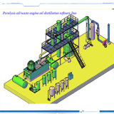 Purifier Type Waste Oil Recycling Plant Geeting Diesel Oil