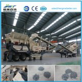 Construction Waste Jaw Crusher Mobile Station
