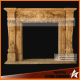 Home Decorative Electric Fireplace, Marble Fireplace, Granite Fireplace