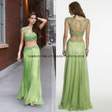 Midriff-Baring Ladies Party Dress Chiffon Prom Evening Formal Gowns Z803