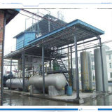 Used Engine Oil Refining to Diesel Equipment by Distillation