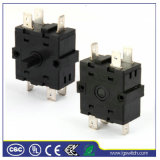 2 Pole 4 Position 16A Rotary Switch