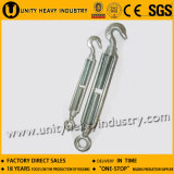 Commercial Type Electro Galvanized Malleable Turnbuckle