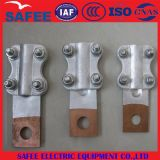 China Slg-Q Type Copper & Aluminum Transition Terminal Clamps with Brazing - China Conductor Fitting, Grid Fitting