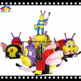 8 Seats Amusement Park Equipment Naughty Bee Helicopter