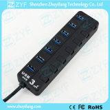 7 Switches 7 Port USB 3.0 Hub (ZYF4126)
