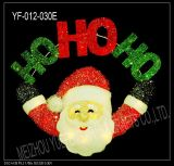 Christmas Decoration Santa Clause with Lights  (YF-012-030E)