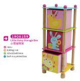 Children Furniture Wooden Toy Storage Shelf Storage Box for Kids