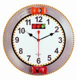 Novelty OEM Design Black Round Wall Clock