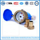 Multi Jet Dry Type Cold Water Meter Brass Body (LXSG-15E-50E)