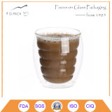 High Borosilicate Double Wall Glass Cup Coffee Cup