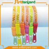 Promotional Colorful Zipper Bracelet with Gift