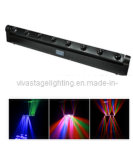 Stage Light/Stage Lighting/Stage Equipment/LED Moving Head Beam Bar 8X10W 4-in-1 RGBW CREE LED 8 Heads Beam Bar (QC-LE070)