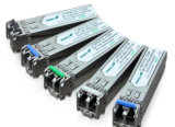 1.25gbps 1550nm 80km Singlemode Datacom SFP Optical Transceiver