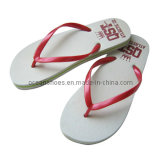 Fashion Women PE Slippers Lady Flip Flops Sandals Women Shoes (OCL-56)