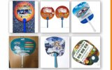 Promotional Plastic Hand Fans with Your Customized Imprint