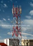 4 Legged Steel Microwave Radio Tower for Telecommunication