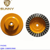 100mm Corrugated Disc Diamond Grinding Cup Wheel for General Purpose Stone