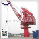 40 Ton Port Tyre Lattice Boom Fixed Crane