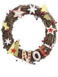 Natural Vine Creative Christmas Wreaths