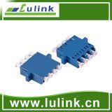 New Design LC Fiber Optic Adapter with Sm 4 Port