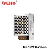 Manufacturer Constant Voltage 15W 15V Mini Size LED Power Supply 1A
