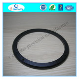 CNC Latheturning Part Aluminum 6061 T6 Black Anodized Wheel Spacer