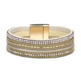 Punk Style Alloy Golden Women Bracelet Jewelry