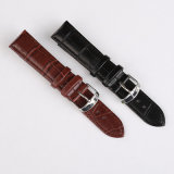 Robust Waterproof High-Quality Crocodile Genuine Leather Watch Bands