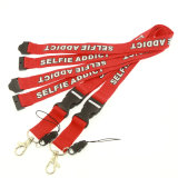 Hot Sell Printed Cheap safety Buckle Neck Lanyard