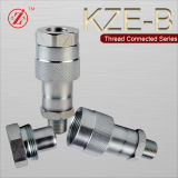 Kze-B Thread Locked Type Hydraulic Quick Coupling (STEEL)
